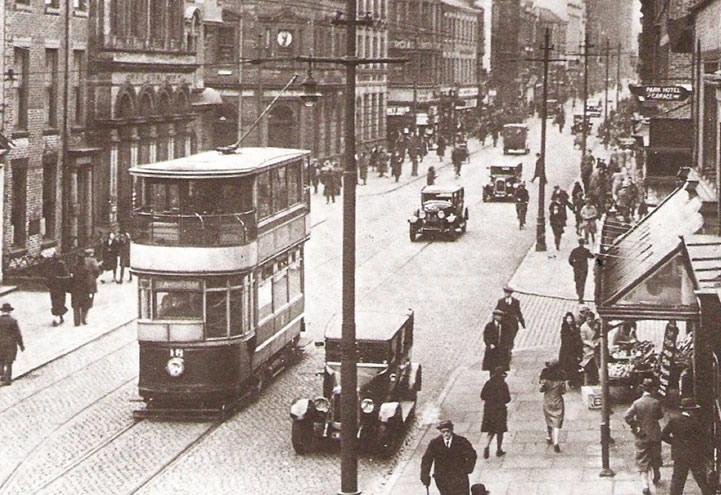 Example of Preston's original tramway