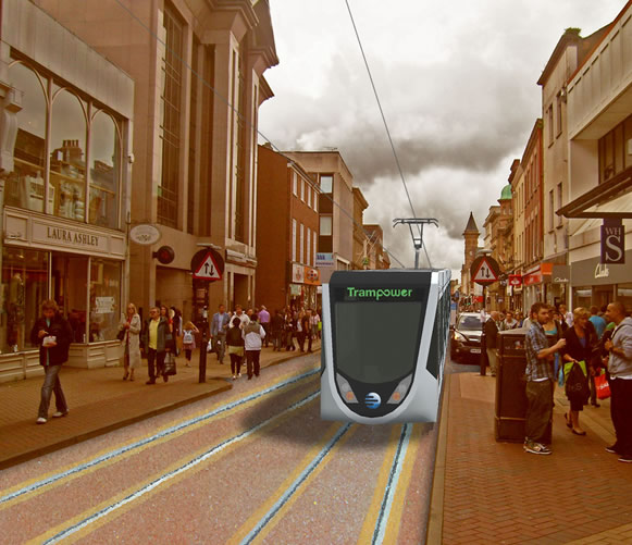 How Preston's GUILD Tramway will appear